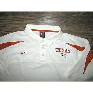 Nike Texas Longhorns Polo shirt XL